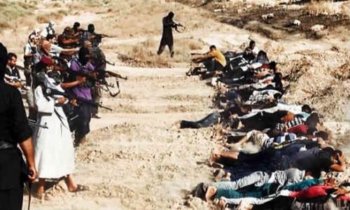 cristianos fusilados por el isis