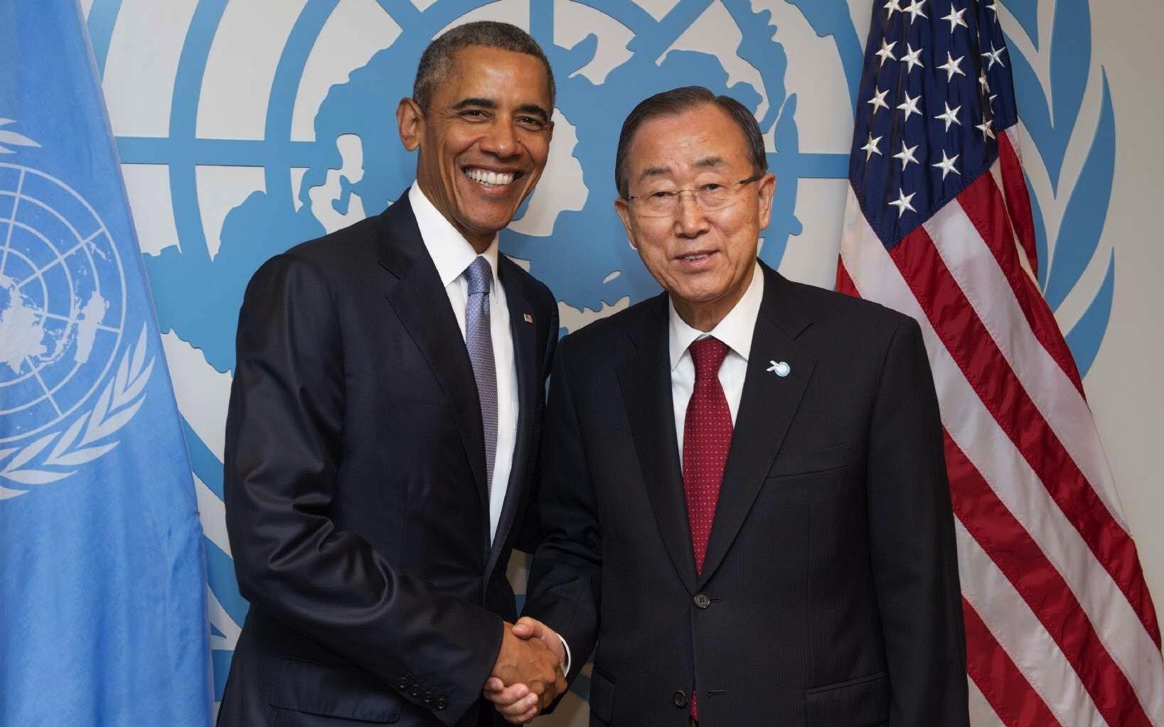 Obama se prepara para ser el nuevo Secretario General de la ONU, con el mérito de entregar Jerusalén a los Palestinos…