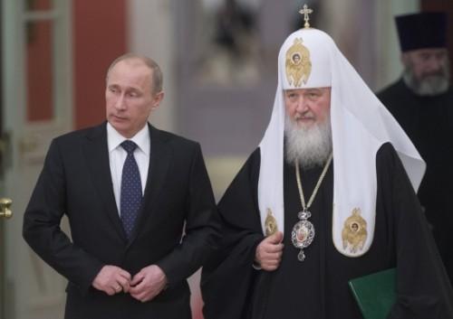 presidente putin y patriarca kirill