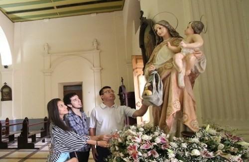 virgen maria ama de casa paraguay