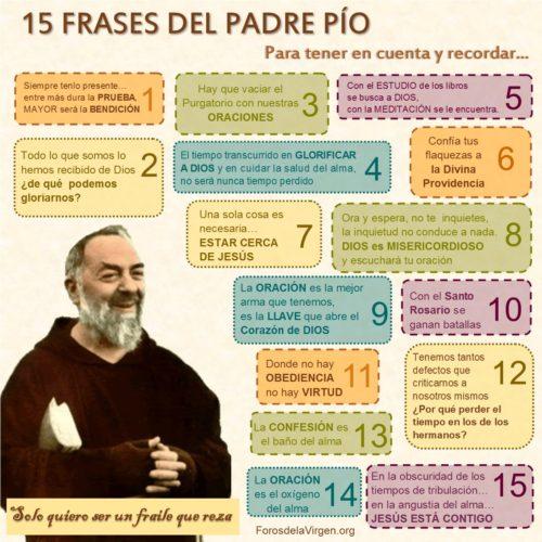 Citas del Padre Pío