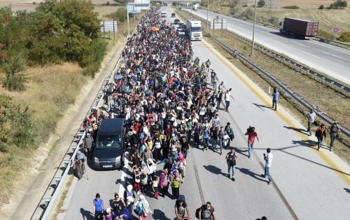 migrantes que llegan a europa fondo