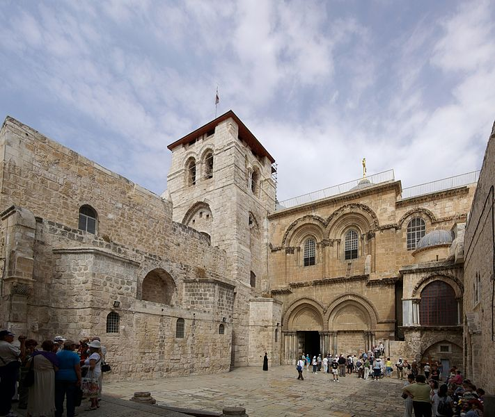 santo sepulcro de jerusalen externo