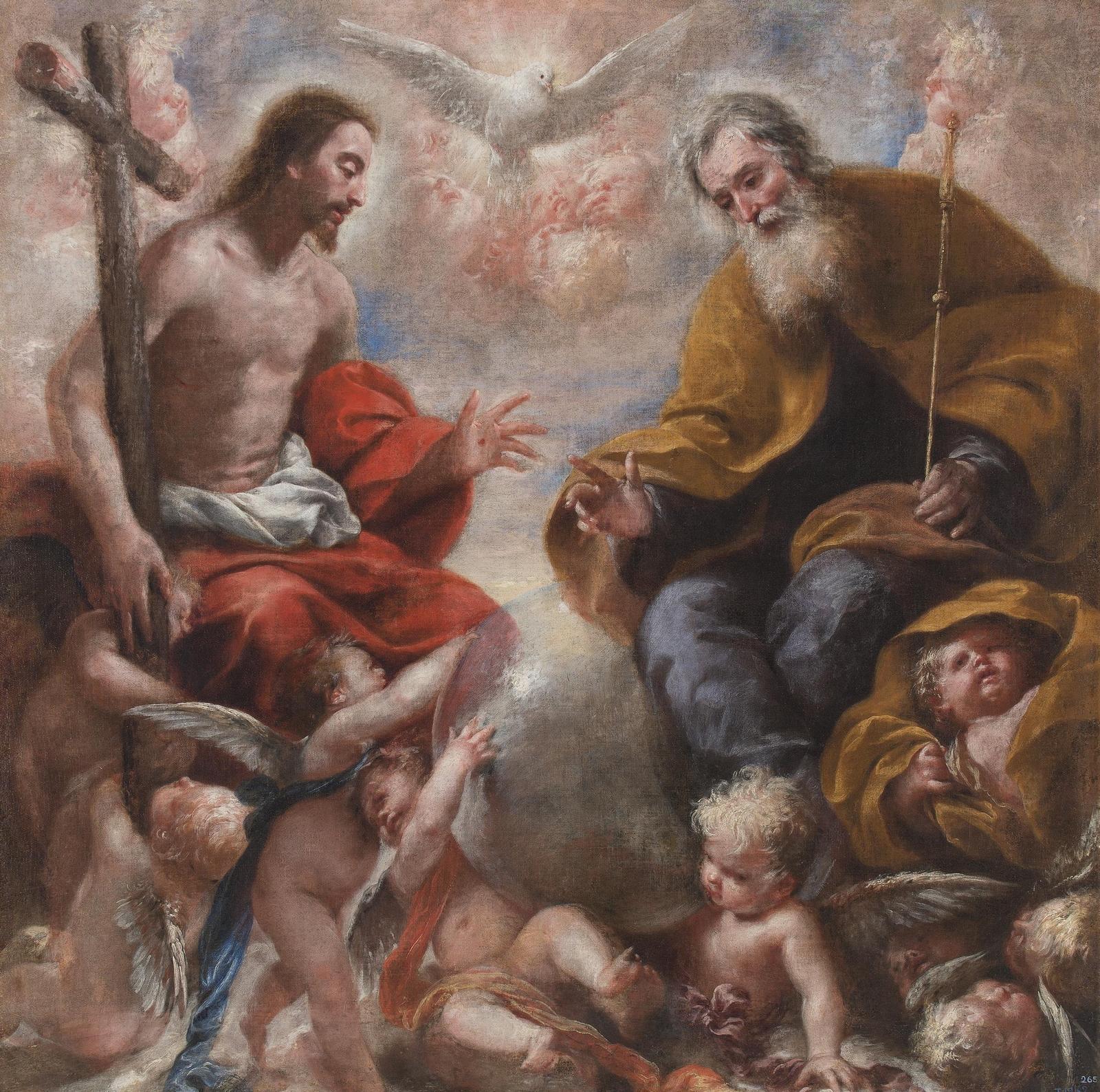 Fiesta de la Santísima Trinidad, el Misterio Central del Cristianismo (dom + Pentecostés)