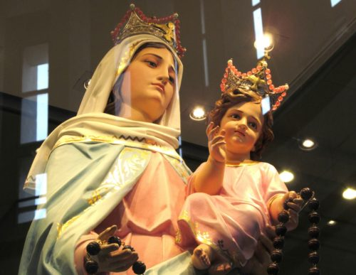 virgen del rosario de san nicolas fondo