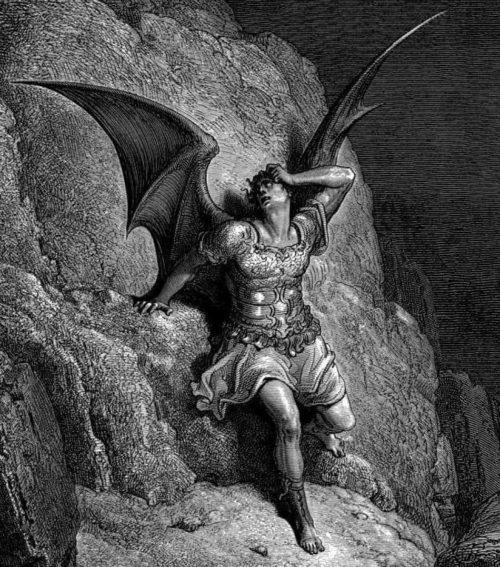 Gustave Dore satan