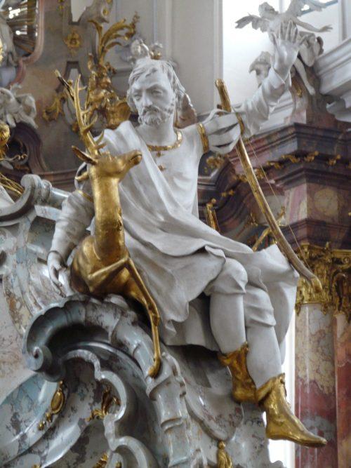San Eustaquio en Basilica Vierzehnheiligen