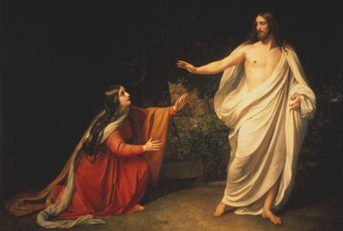 aparicion de jesus a maria magdalena alezandre ivanov noli fondo