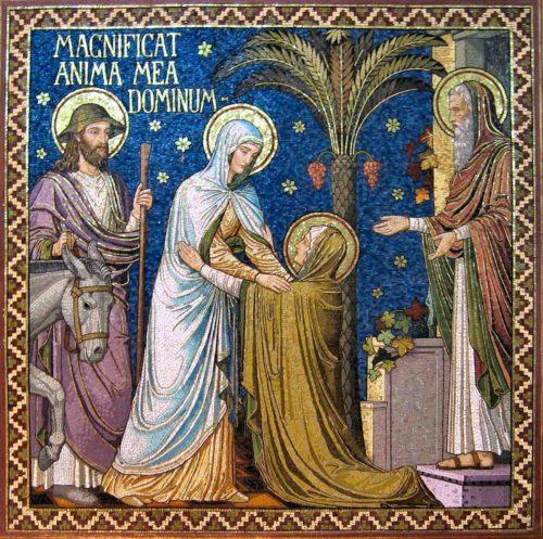 visitacion de la virgen maria