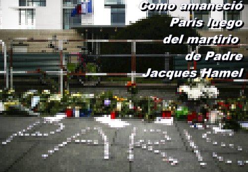 como amanecio paris luego del atentado
