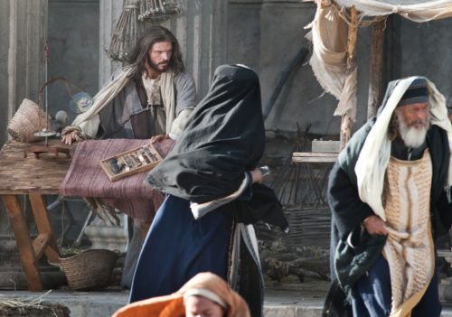 jesus purifica el templo