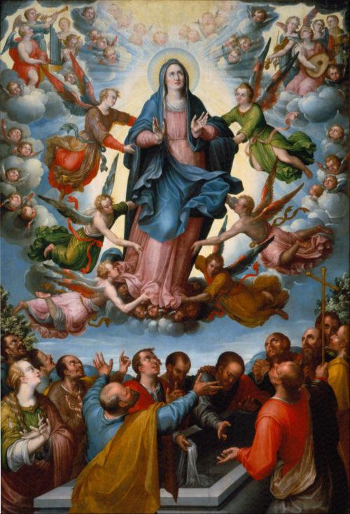 Asuncion de la Virgen María - Alonso López de Herrera