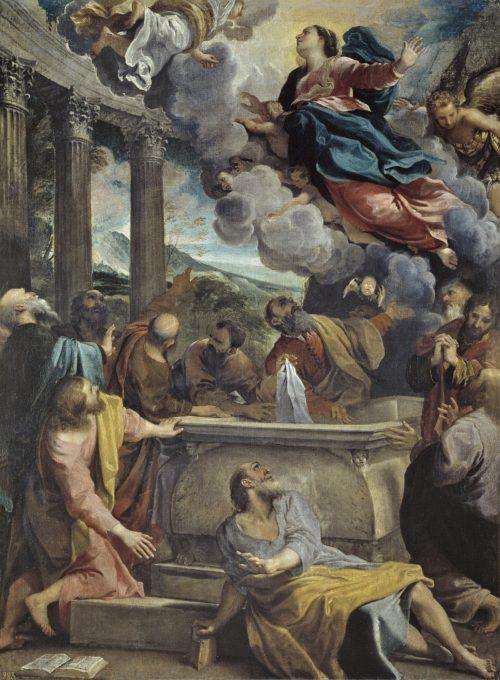 Asuncion de la Virgen María - Annibale Carracci