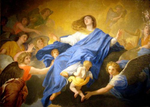 Asuncion de la Virgen María Charles Lebrun