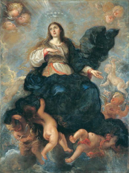 Asuncion de la Virgen María - Juan Carreño de Miranda