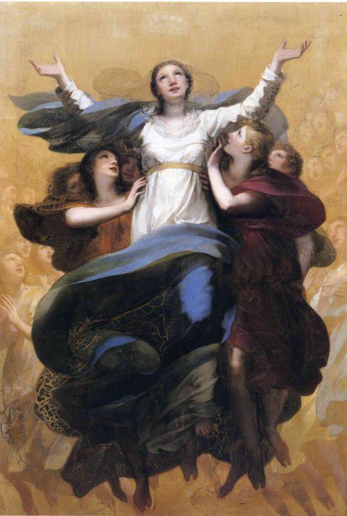 Asuncion de la Virgen María Pierre-Paul Prud'hon