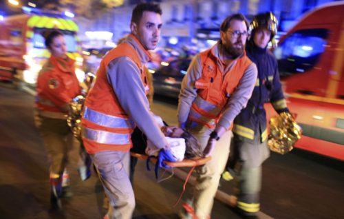 heridos en Paris
