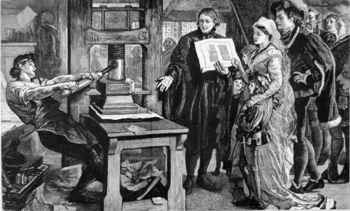 imprenta del siglo xv