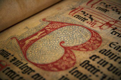 letras de la biblia de gutembergk