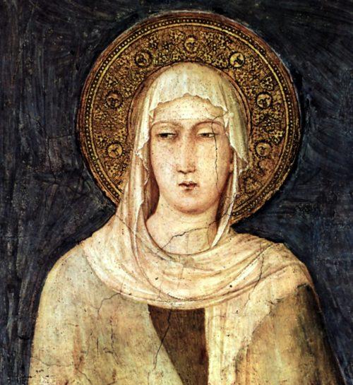 pintura de santa clara
