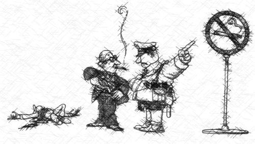 policia politicamente correcto