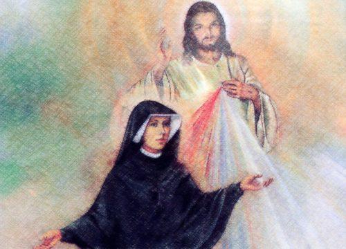 santa faustina y jesus de la misericordia