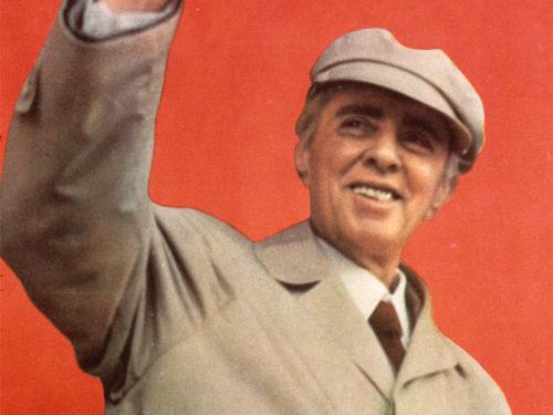 Enver Hoxha, dictador de Albania