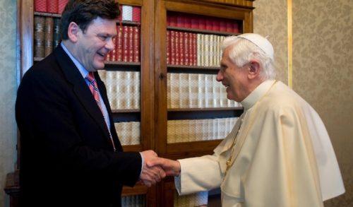 Joseph Ratzinger con Peter Seewald