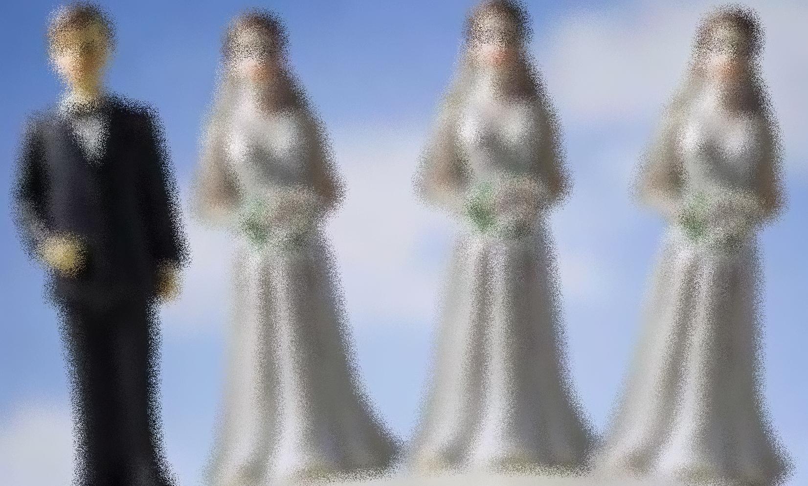 poligamia 1 hombre tres mujeres