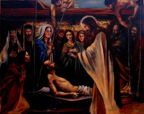 Jesus levanta al paralitico