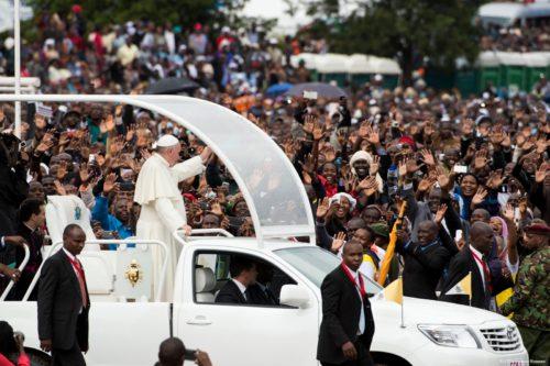 Papa Francisco en Kenia