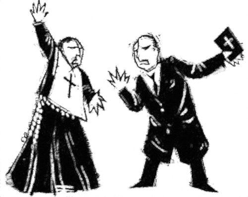 cura y pastor protestante