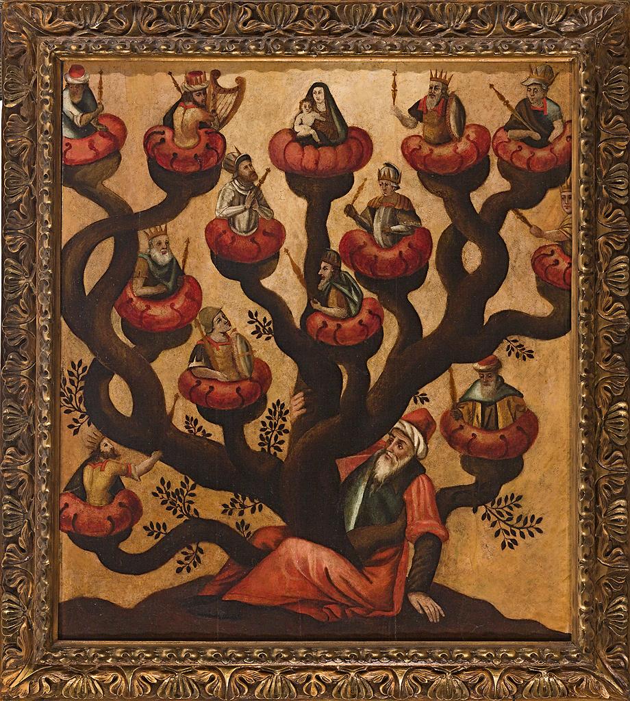 Conoces la tradición de Armar el Árbol de Jesé para Prepararse para ...