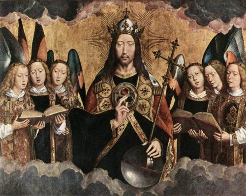 cristo-rey-rodeado-de-angels