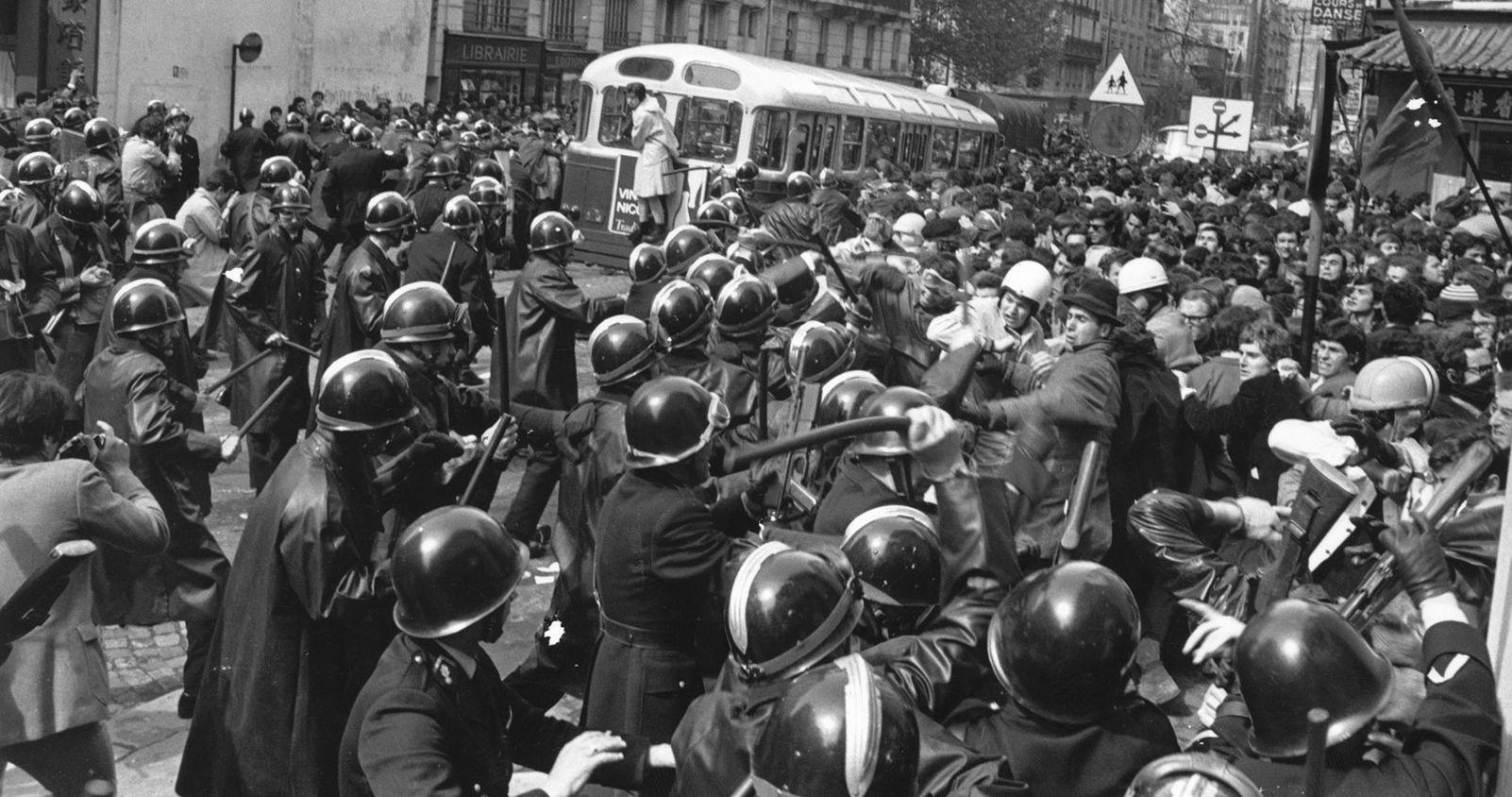 La gran Revolución Anti Cristiana de Mayo de París 1968  [50 años después]