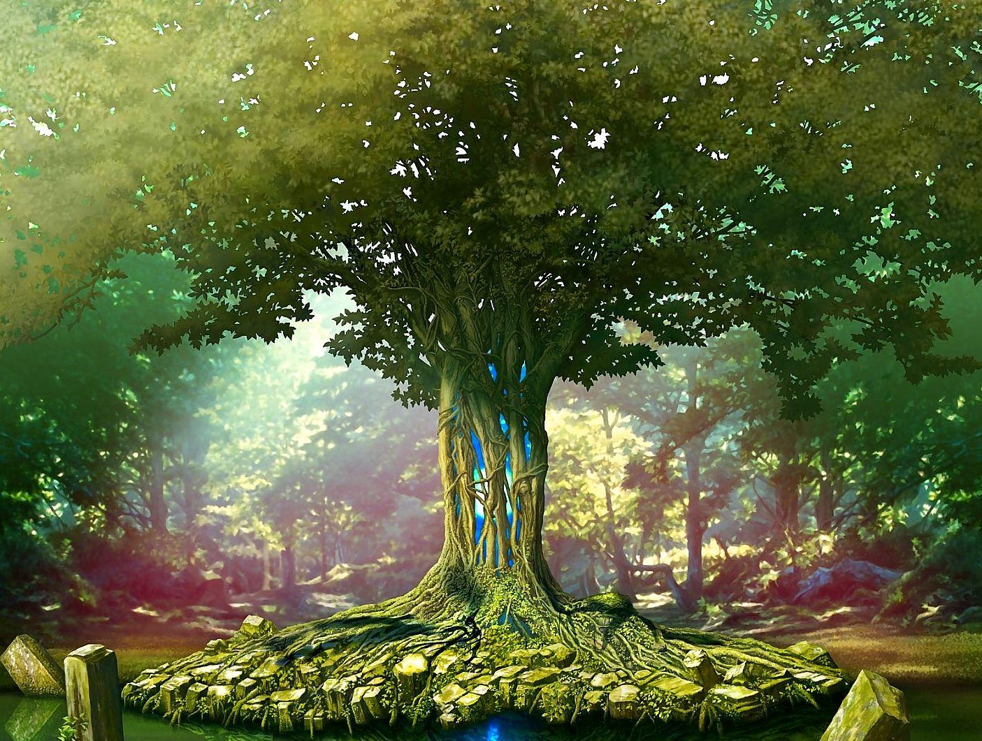 Sabías que hay un Árbol que Sostiene toda la Vida? » Foros de la ...