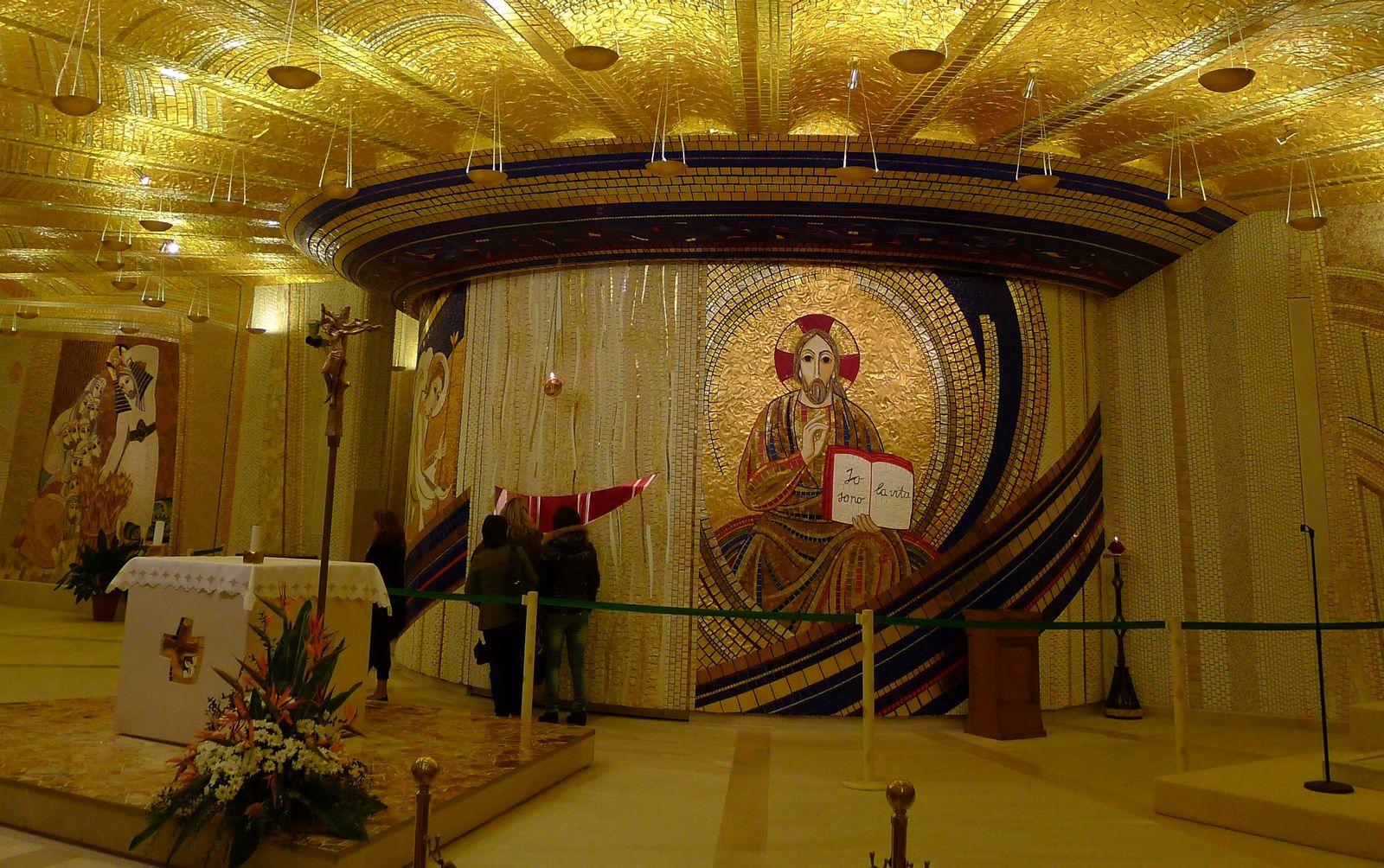 ¿Los Masones habrán Diseñado la Catedral donde está Enterrado el Padre Pío?
