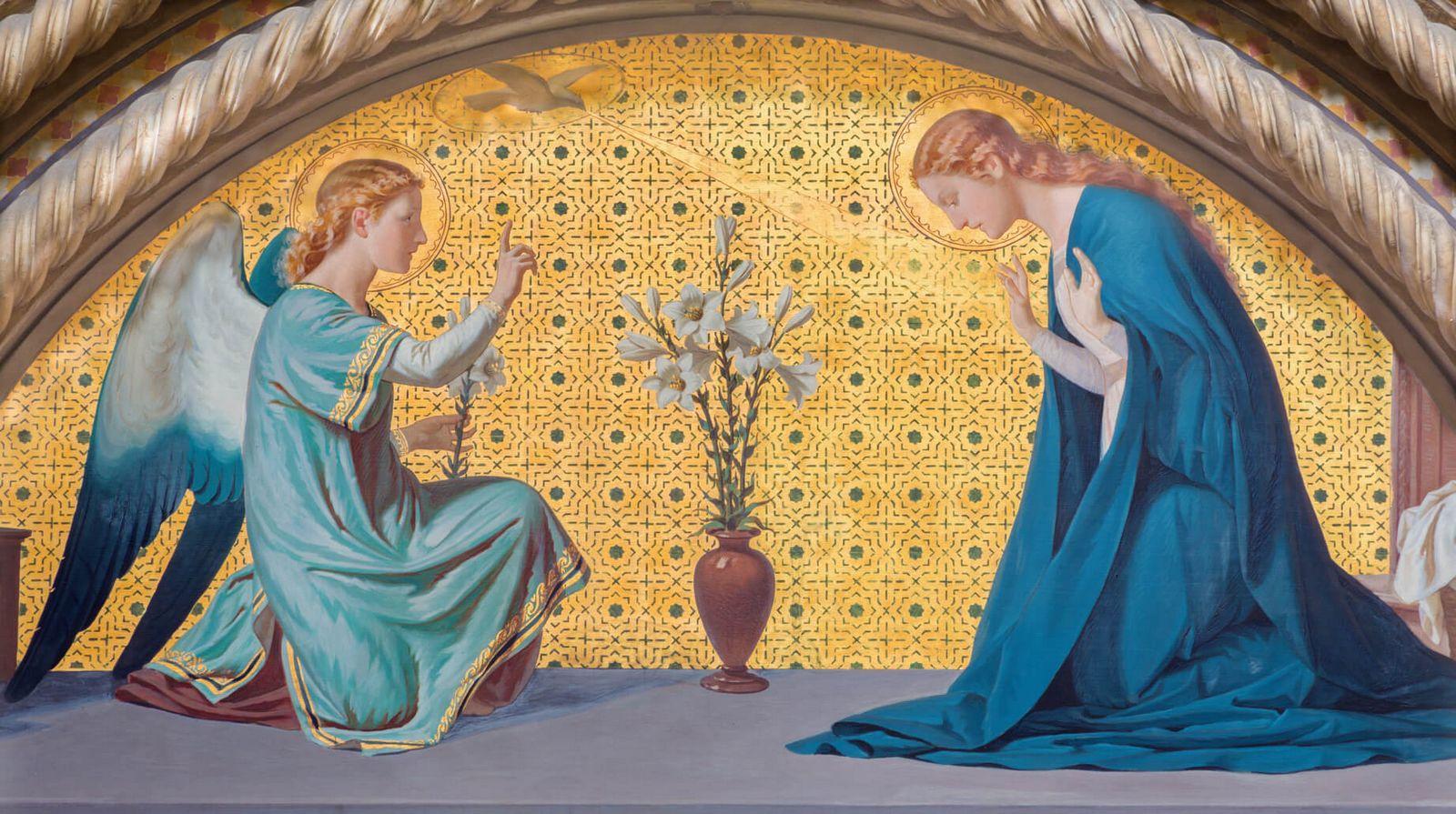 San Gabriel Arcángel, el Ángel de la Anunciación
