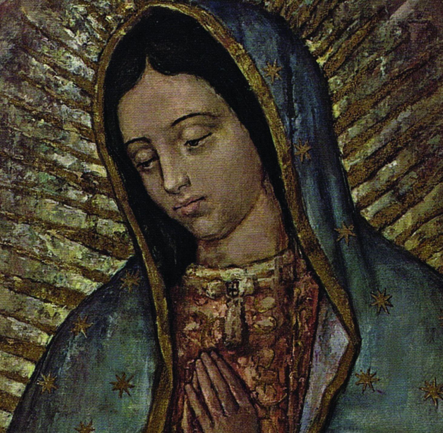 El milagro de los ojos de la Virgen de Guadalupe]