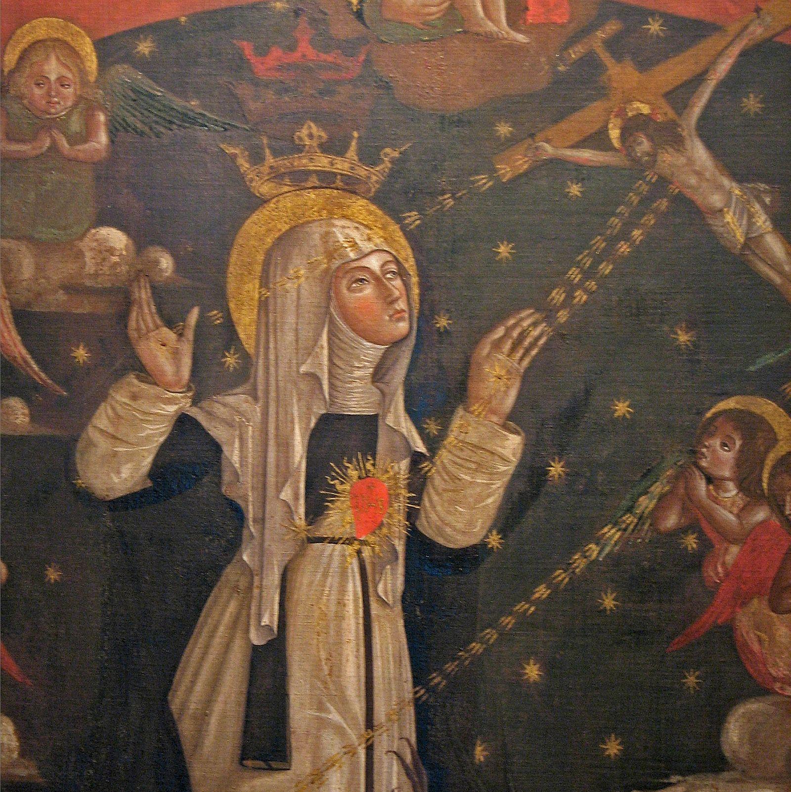 La Santa que Devolvió el Papado a Roma y vio el Infierno